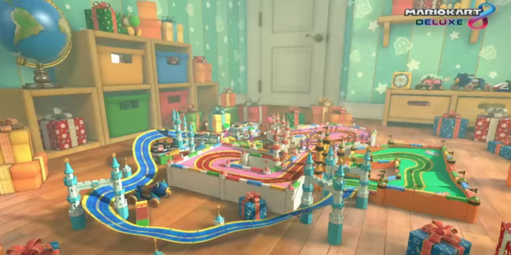Amazon Games Listing: 'Mario Kart 8' Deluxe Guide Details Labelled Maps, Tracks, Characters; Nintendo Switch Version With 8 Battle Mode Courses
