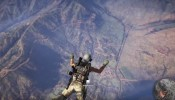 Tom Clancy's Ghost Recon Wildlands - helicopter parachute