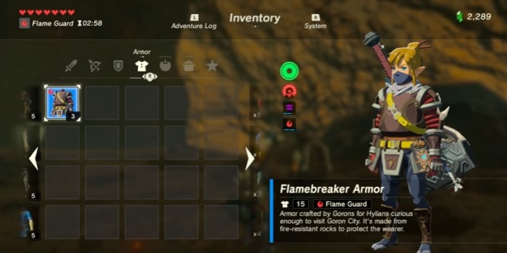 'Legend Of Zelda: Breath Of The Wild' Guide: Where To Find Heat Resistance Gear