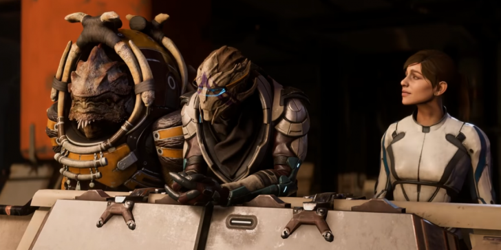 BioWare Responds To 'Mass Effect: Andromeda' Facial Animation Complaints