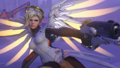 Overwatch ► All MERCY Skins, Emotes, Voice Lines, Victory Poses, Highlight Intros, etc.