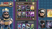 FOUR NEW CARDS! Clash Royale - Sneak Peek! Bandit, Night Witch, Bats, Heal Spell!