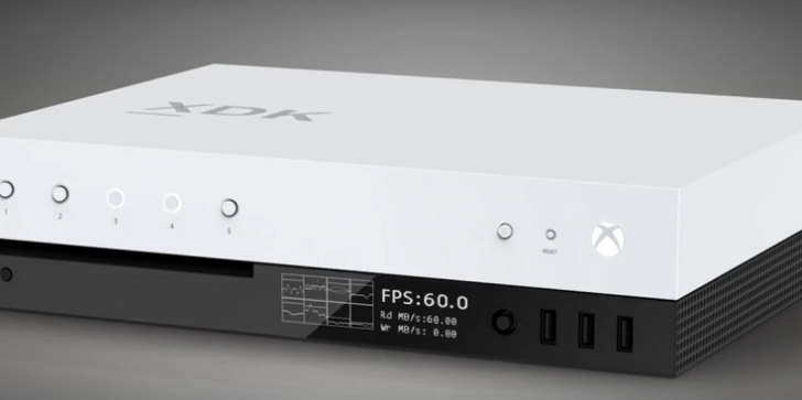 Microsoft Shares Project Scorpio Dev Kit Video
