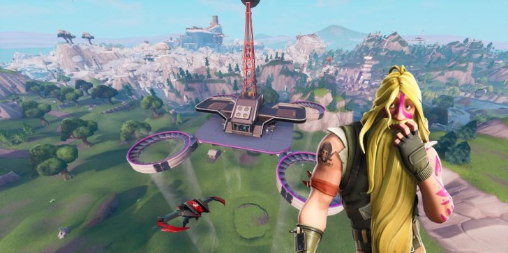 'Fortnite' Fortbyte #67 Location: Accessible By Flying The Retaliator Glider Through The Rings Under The Southern Most Sky Platform