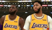 'NBA 2K20': 2K Releases The First In-Gam Screenshot Of Anthony Davis In A Los Angeles Lakers Uniform