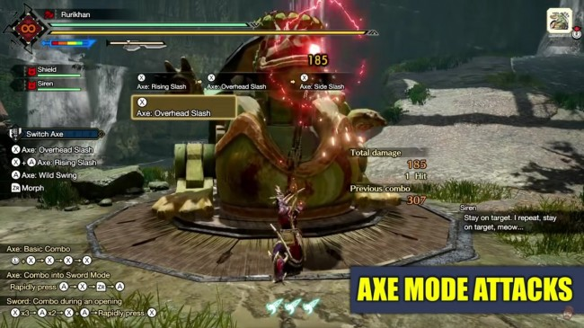 BEHOLD, THE SWITCH AXE