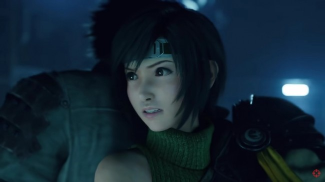 HERE COMES YUFFIE