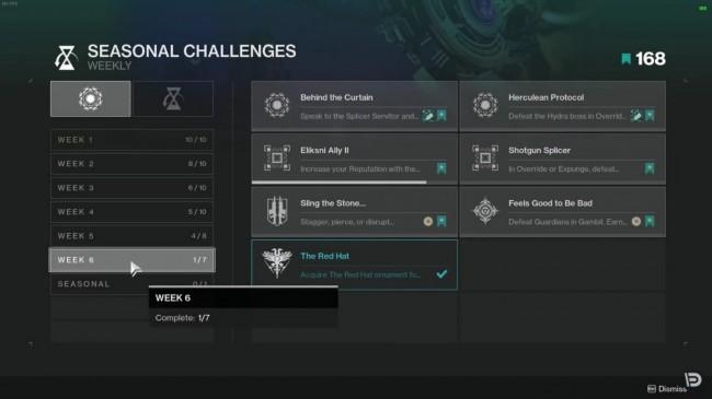 WEEK 6 CHALLENGES