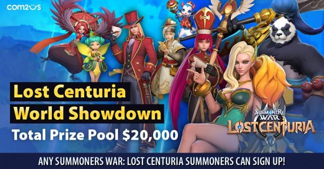 Summoners War Lost Centuria World Showdown