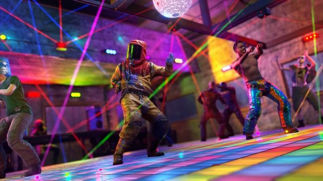 GET GROOVIN' ON THE DANCE FLOOR