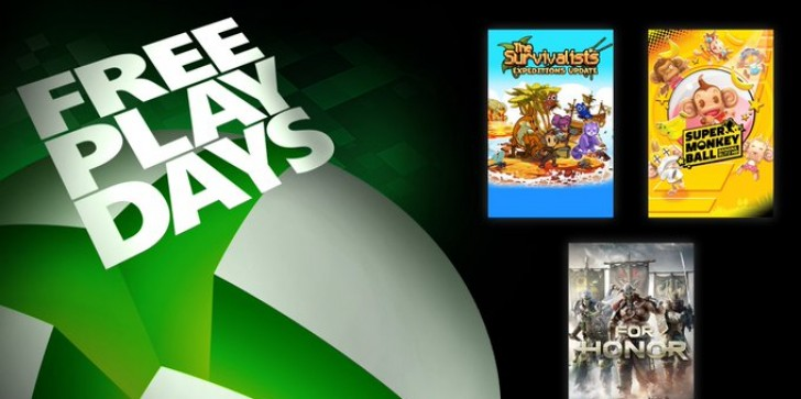 'Xbox Free Play Days' will Give Away 'Super Monkey Ball -- Banana Blitz HD,' 'For Honor,' and 'The Survivalists':  How to Get Your Copy of These Games for Free