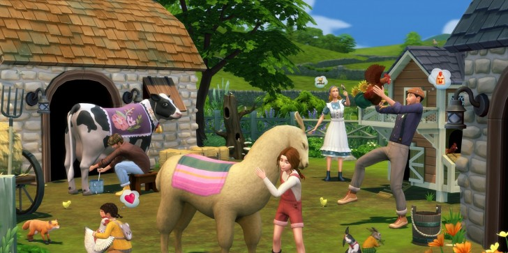'Sims 4' Cottage Living Update Guide: Release Date,  Animals, New Content, Pre-Order Bonus Items