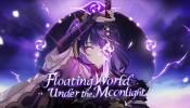 Floating Island Under the Moonlight