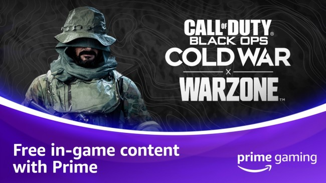 CALL OF DUTY-AMAZON PRIME GAMING
