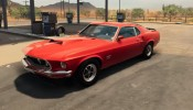 THE 1969 FORD MUSTANG MACH 1