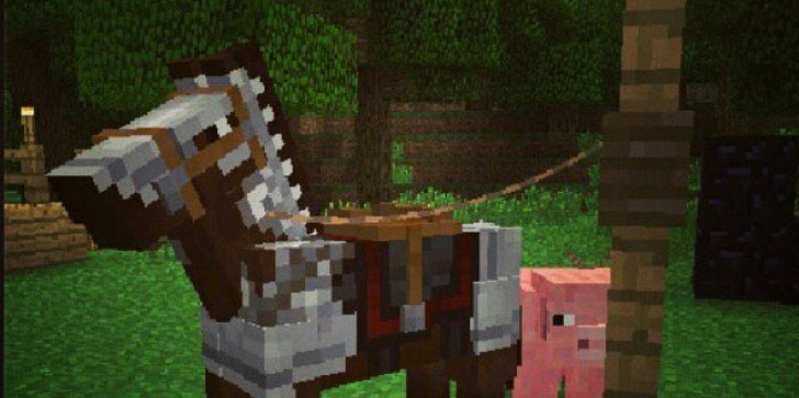 'Minecraft's' First Look At Armored Horses, More Difficulties Incoming
