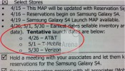 Galaxy S4 Coming to AT&T, T-Mobile and Verizon