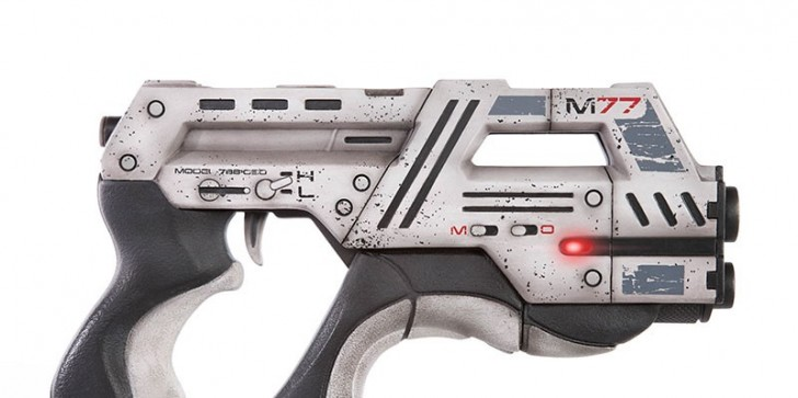 Mass Effect 3 M-77 Paladin Pistol Replica Goes On Sale For $400: Will You Buy?