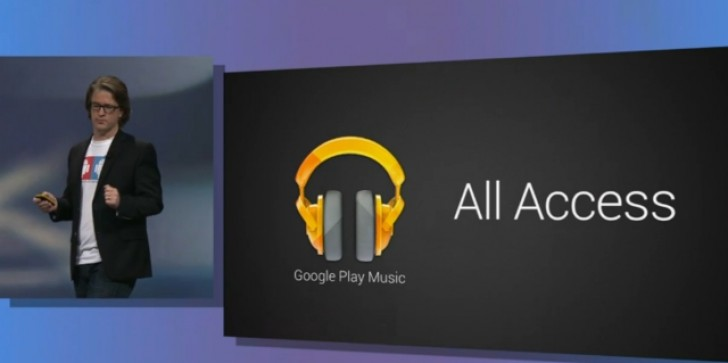 Google Play All Access Music Service Out Now