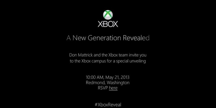 Watch Microsoft Unveil The Next Xbox Right Here