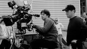 Zach Braff shooting a movie
