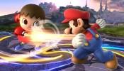 Smash Bros. Mario vs Animal Crossing Villager
