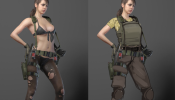 MGS V Quiet Edwards