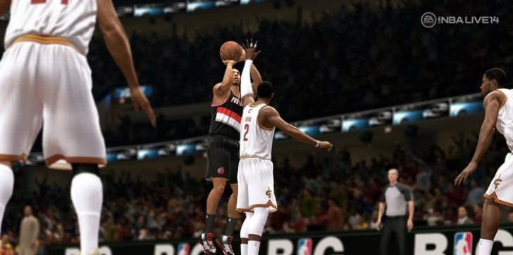 NBA Live 14 gets release date, first screenshot, and trailer